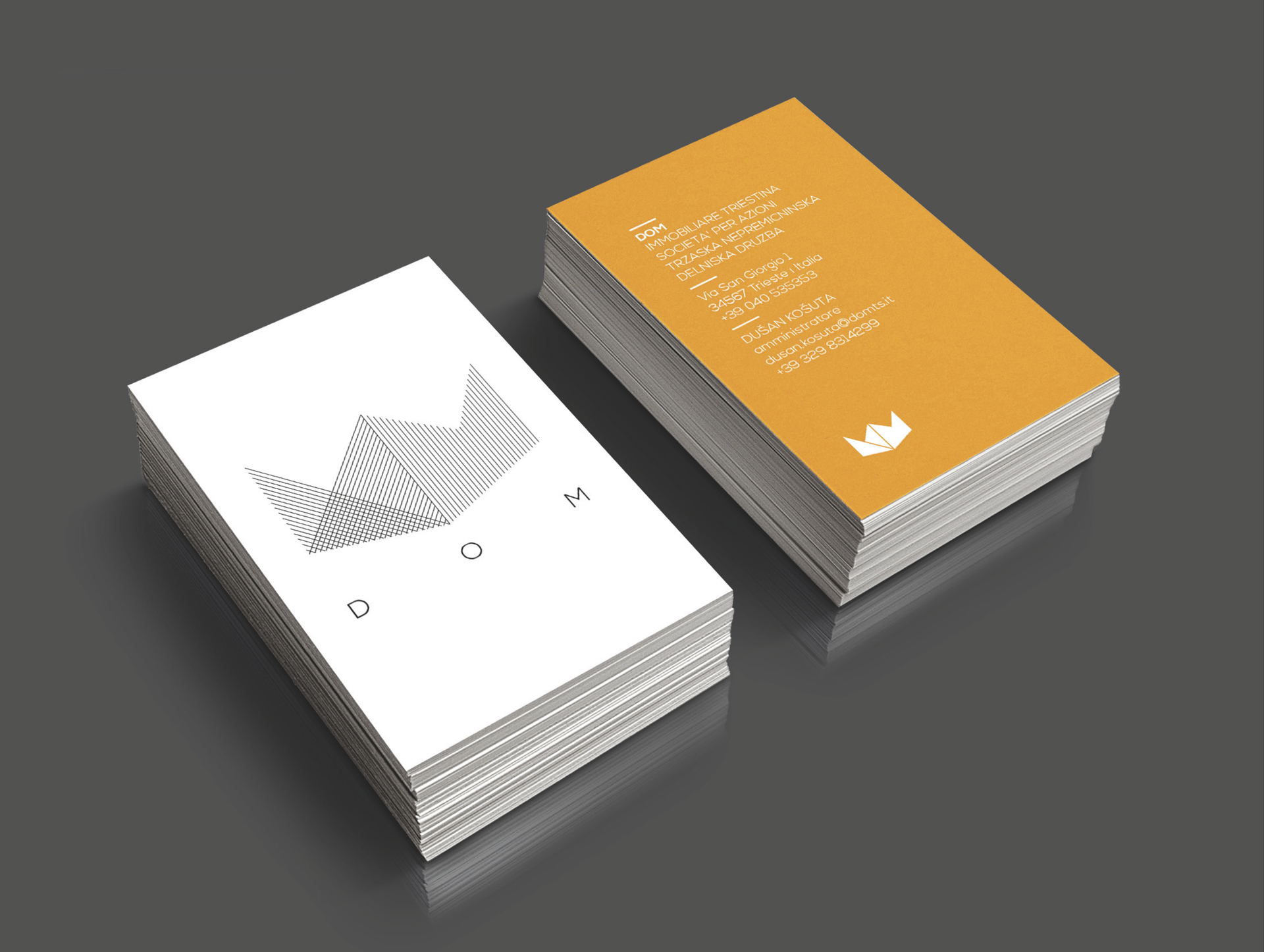 DOM_Business card